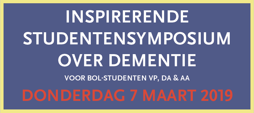 studentensymposium reminder dementie 7 maart
